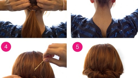 How to Get a Tuck and Roll Chignon Hairstyle | StyleCaster