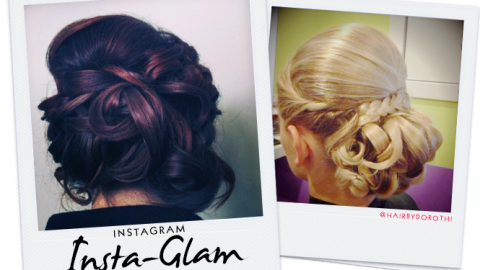 Instagram Insta-Glam: Updo Hairstyles We Love | StyleCaster