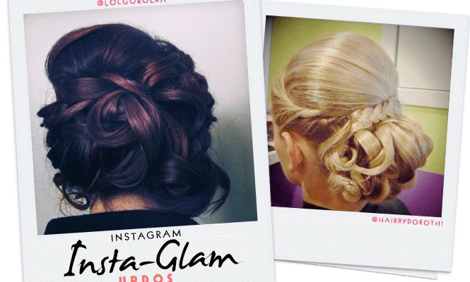 Instagram Insta-Glam: Updo Hairstyles We Love