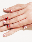 Halloween Nail Art: Get Vampire Fang and Blood Nails to Creep Out Your Friends...