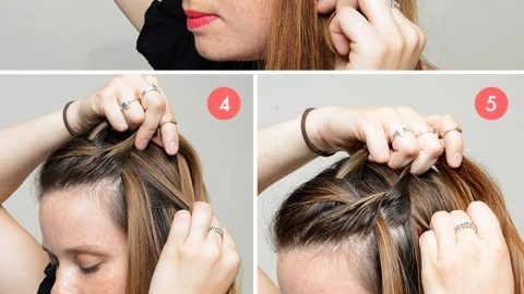 How to (Really) Do a Waterfall Braid | StyleCaster