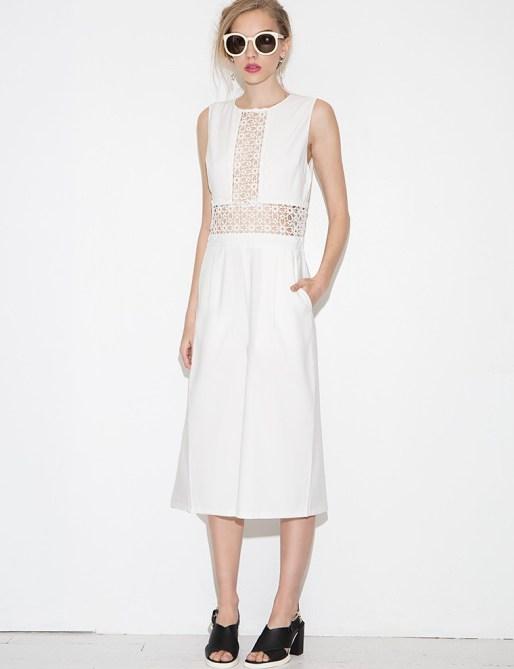 white pixie market jumpsuit