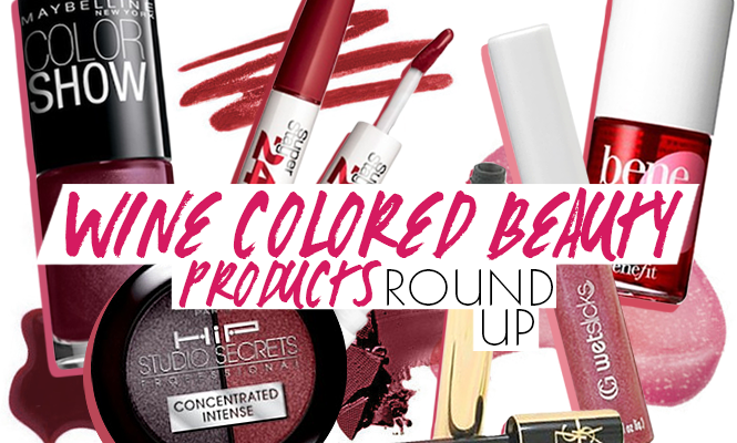 8 Ways to Wear Wine Colored Beauty Products