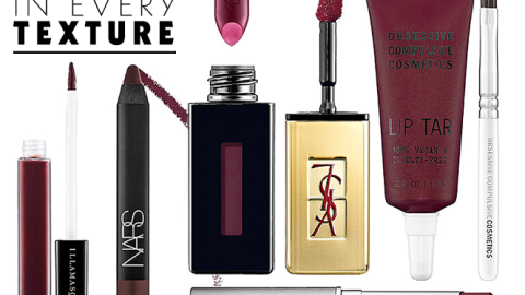 Wine Lip Colors in Every Texture | StyleCaster