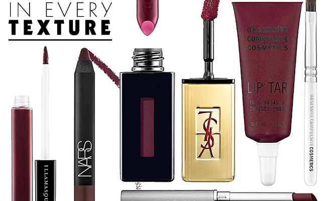 Wine Lip Colors in Every Texture