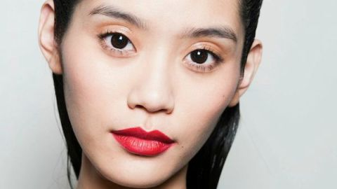 Steal This Bold Red Lip Tip From Zac Posen's Show | StyleCaster