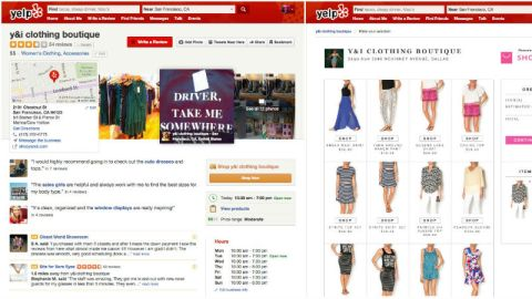 Now You Can Shop On Yelp | StyleCaster