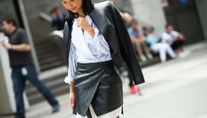 27 Clever Ways to Layer Skirts Over Pants and Dresses