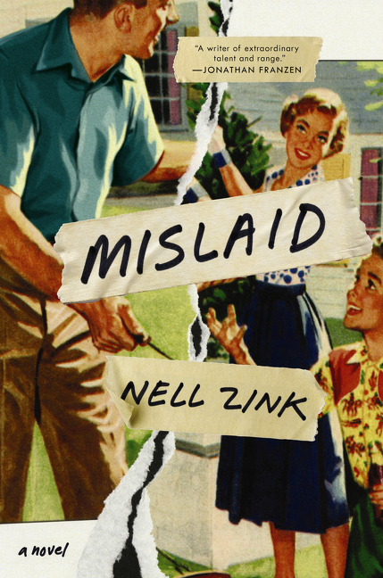 mislaid neill zink book cover