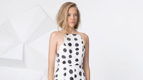 A Grown-Up Way to Do Polka Dots | StyleCaster