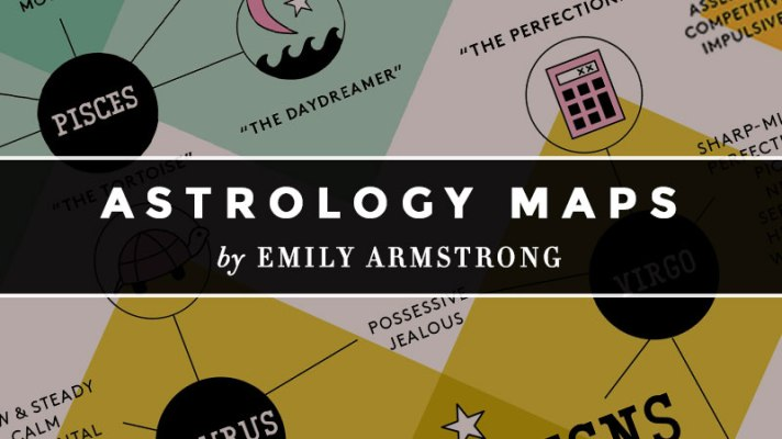 Discover More About Your Sign With These Genius Astrology Charts