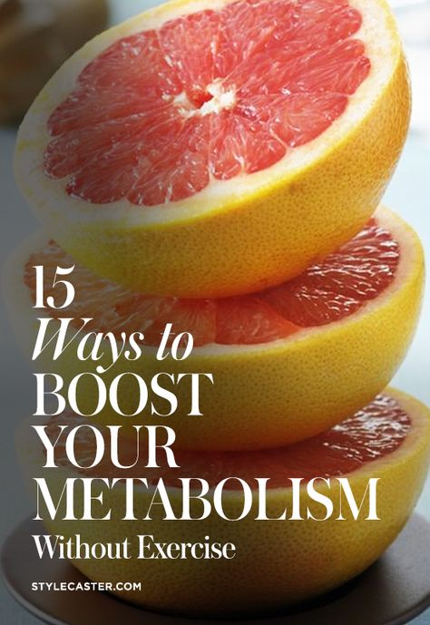 boost metabolism without exercise 15 Ways to Boost Your Metabolism Without Any Exercise