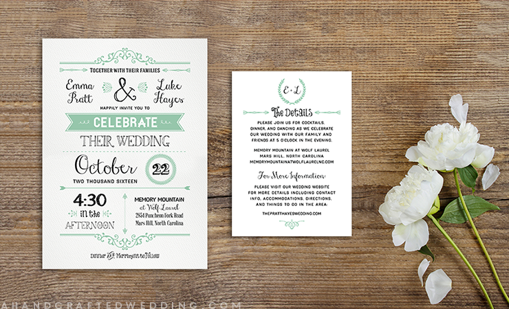 Free Printable Wedding Invitations To Download Stylecaster