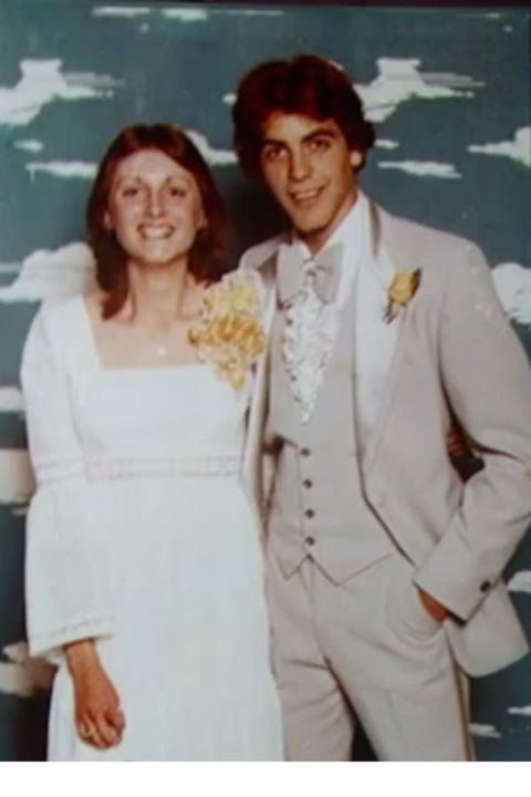 hbz clooney tip George Clooneys Prom Photo is Just as Cringeworthy as Yours