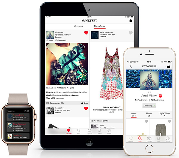 holding tns app 1 Net a Porter Wants to Change the Way You Shop (Again) With Its New Social Network