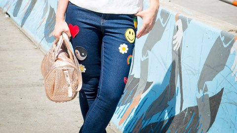 DIY Denim: Patch Your Own Jeans | StyleCaster