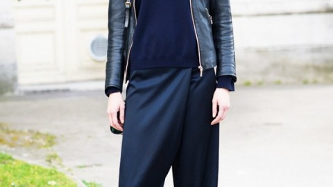 How to Style Wrap-Front Pants | StyleCaster