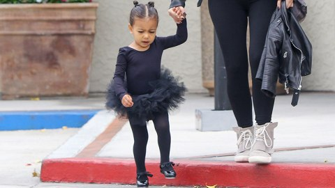 North West = Cutest Ballerina Ever   StyleCaster