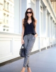 It's All About Patterned Pants Right Now