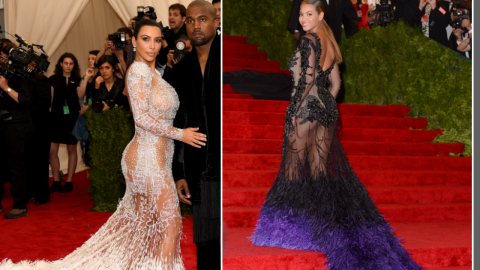 About Kim's Met Gala Gown | StyleCaster