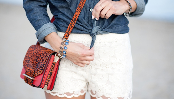 20 Ways to Style a Pair of Lace Shorts