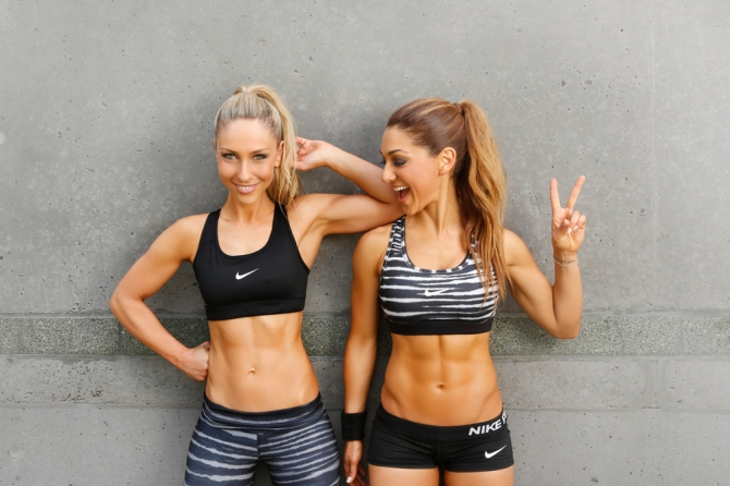 fitness blogger workout plans for the gym