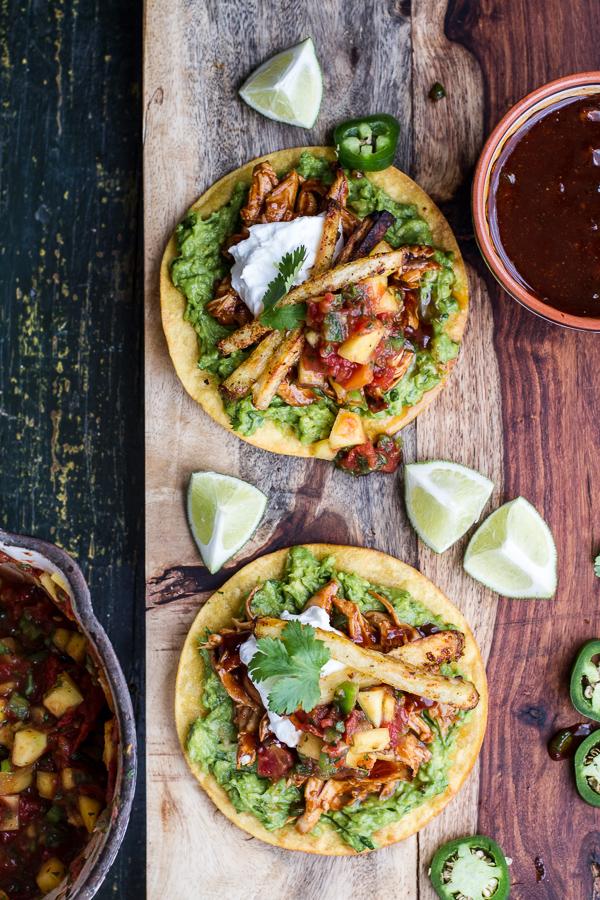 BBQ-Margarita-Chicken-Tostadas-with-Sweet-Jalapeño-Margarita-Salsa-15