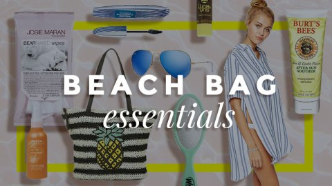 Your Beach Bag Beauty Essentials   StyleCaster