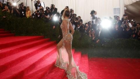 Carolina Herrera is SO Over the Naked Dress | StyleCaster