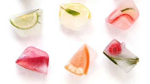 10 Ways to Chic Up Ice Cubes  | StyleCaster