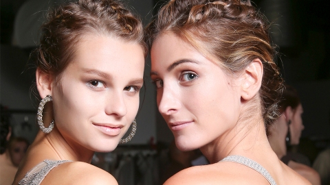 25 Easy, So-Pretty Updos to Try This Wedding Season | StyleCaster