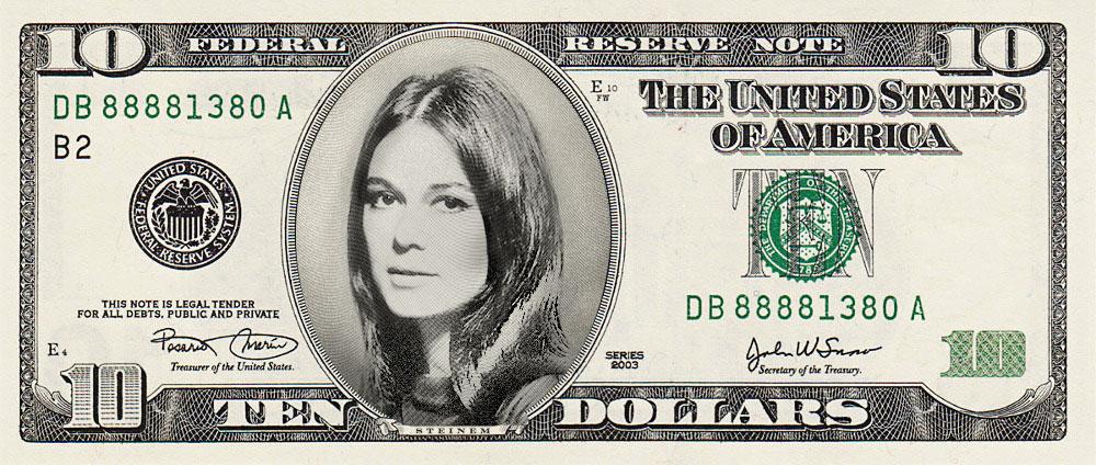 Gloria-10-dollar-bill