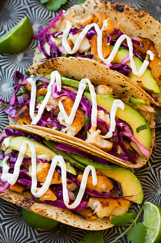 grilled fish tacos crop The 25 Best Taco Recipes Ever—We Swear!