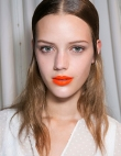 Picture Proof Orange Lipstick Works