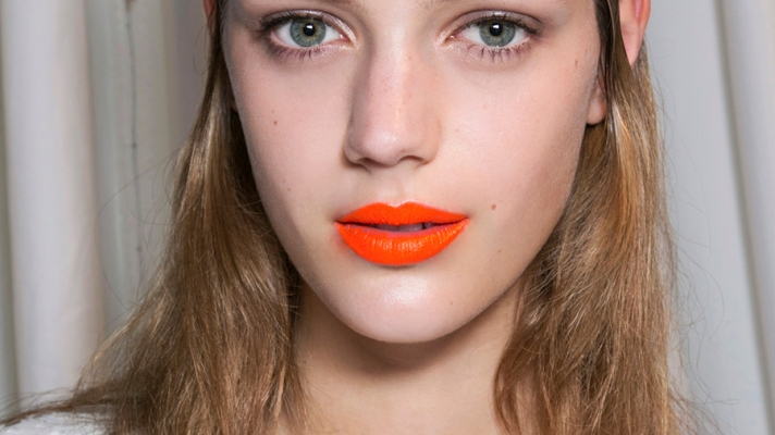 Evidence That Orange Lipstick Really Does Look Good