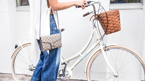 39 Fashion Girl-Approved Ways to Look Chic-As-Hell While Biking | StyleCaster