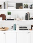 20 Ways to Style Your Shelves