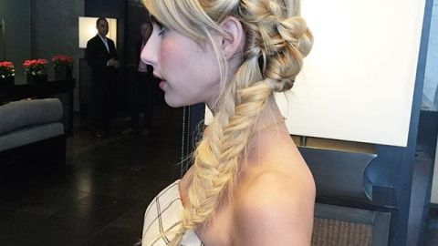 Emma Roberts' Comic Con Braid Is Epic | StyleCaster