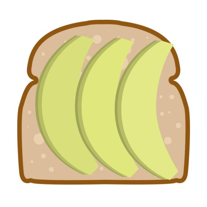 avocado toast emoji