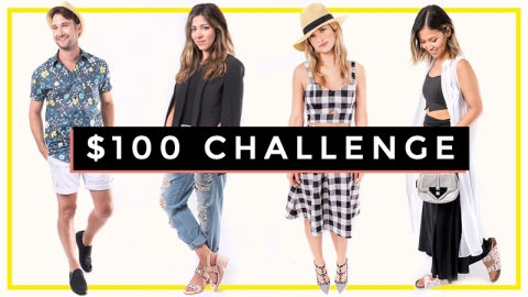 Editor Challenge: Style a $100 Outfit | StyleCaster