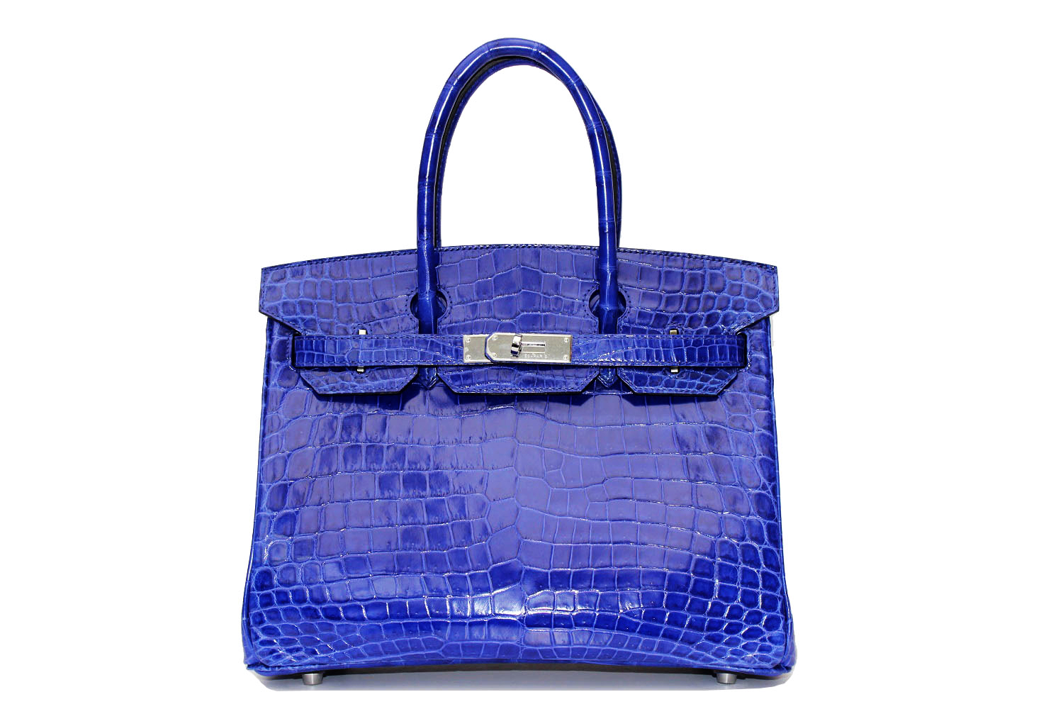 A croc Birkin can fetch over $100,000.