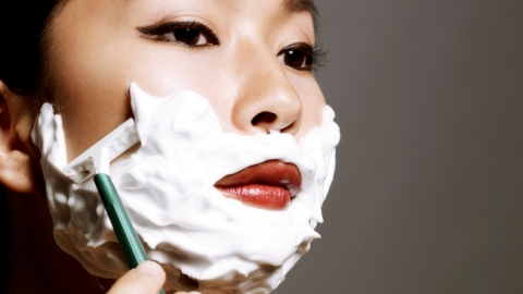 Yes, Facial Shaving is a Thing Now | StyleCaster