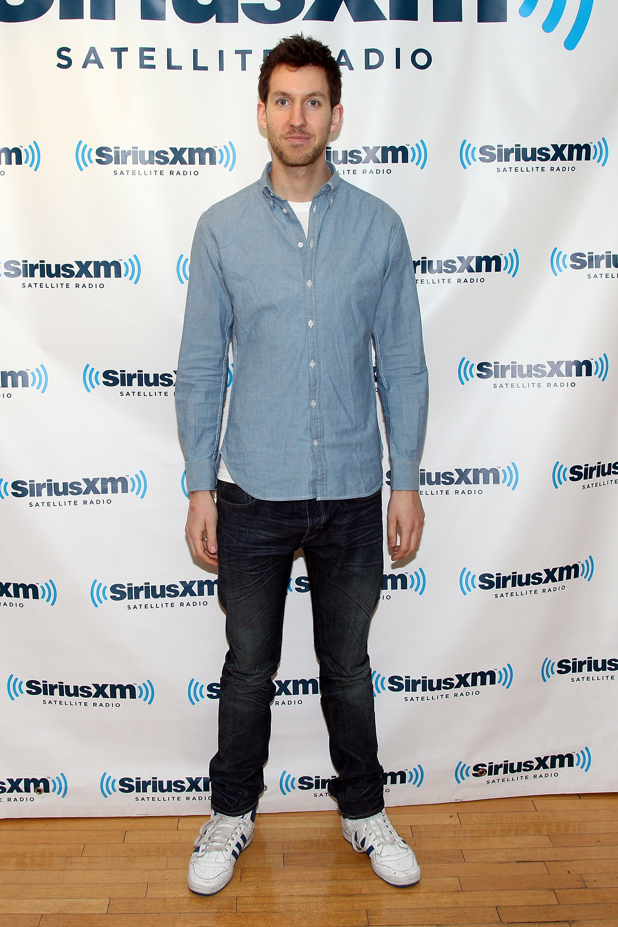 NEW YORK, NY - JANUARY 20:  DJ Calvin Harris visits SiriusXM Studio on January 20, 2012 in New York City.  (Photo by Taylor Hill/Getty Images)