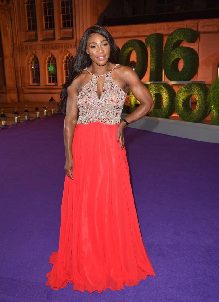 Serena Williams arms
