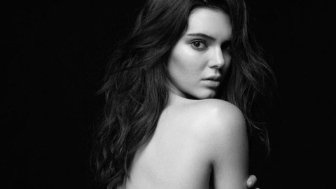 See Kendall's First CK Undies Ads | StyleCaster