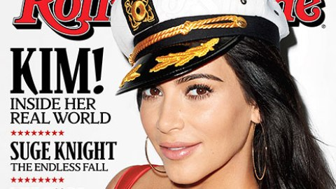 Kim K.'s Boobs Cover Rolling Stone | StyleCaster