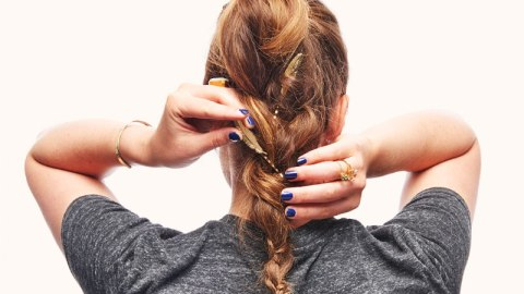Add Accessories to Your Messy Braid   StyleCaster