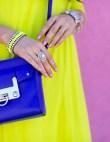 Try This Combo: Neon Yellow + Cobalt