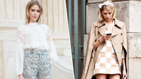 Elena Perminova's Best Street Style | StyleCaster