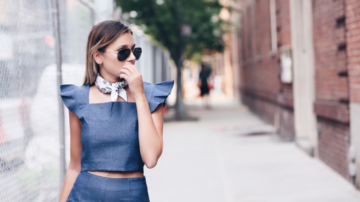 Where to Buy (and How to Wear) the Perfect Denim Two-Piece Set